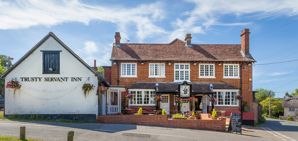 Dog friendly pub in Lyndhurst, hampshire