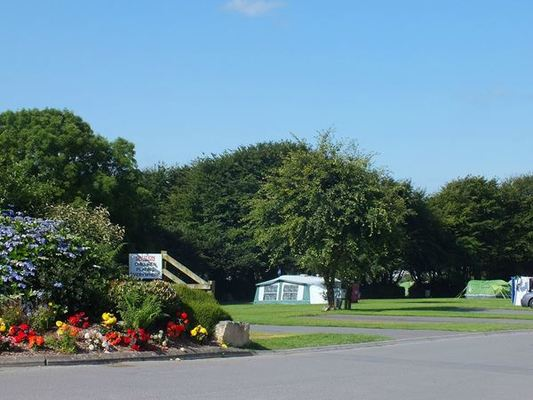 Dog Friendly Camp site in Ilfracombe